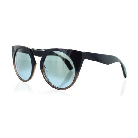 Unisex YY-5012-621 Round Sunglasses // Navy Fade + Blue