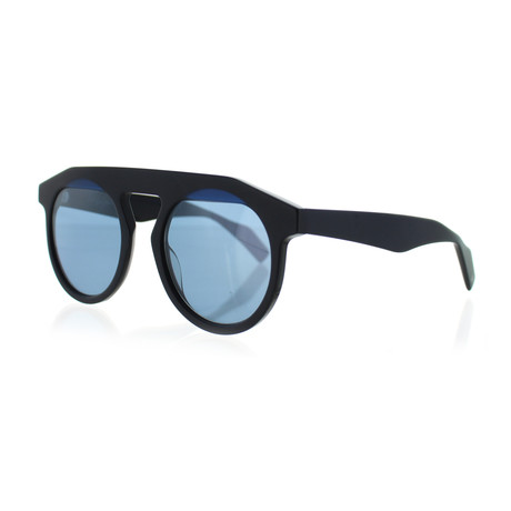 Unisex YY-5017-613 Round Sunglasses // Navy + Blue