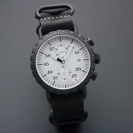 Peregrine Squadron Pilot Chronograph Quartz // PSA-CH-SB-2I // Unworn