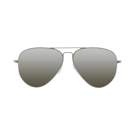 AV1 Large // Platinum + OHM Gray + Silver