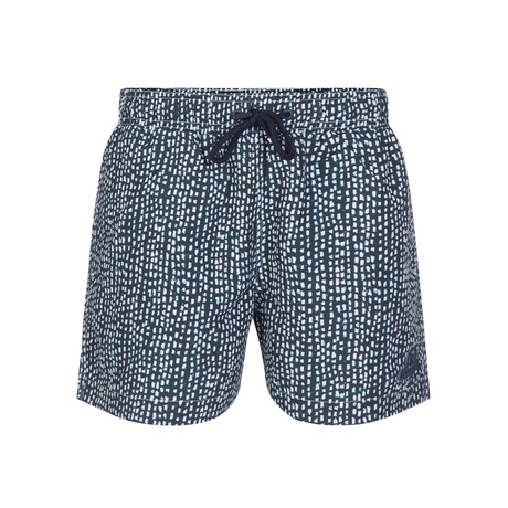 Organic Dotted Swimsuit // Indigo + White (S)