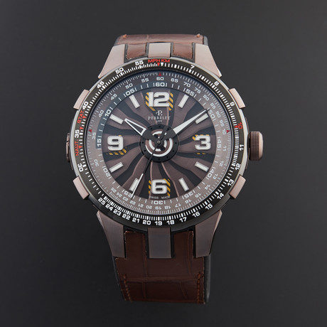 Perrelet Turbine Pilot Automatic // A1094/2 // Store Display
