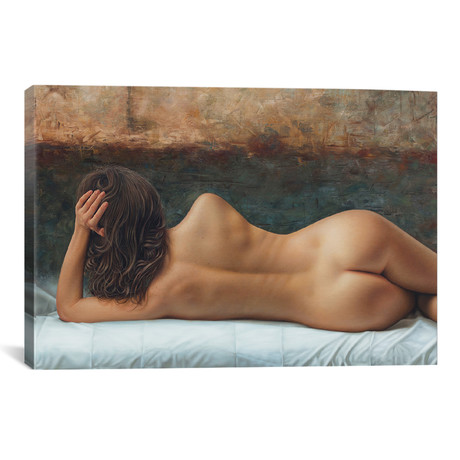 """The Line Of Your Back (26""""W x 18""""H x 0.75""""D)"""