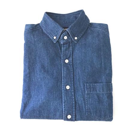Denim Shirt // Blue (US: 15R)