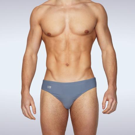 Storico Swim Brief // Grey (S)