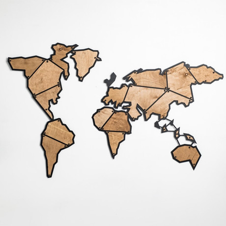World Map Terra (Small)