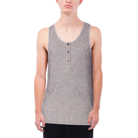Cody Thermal Tank // Charcoal (S)