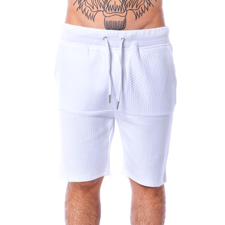 Sheldon Knit Short // White (S)