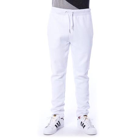 Max Cinch Bottom Pant // White (S)