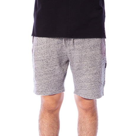 Sherman Marled French Terry Knit Short // Heather Grey (S)