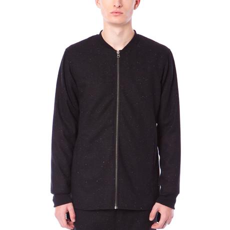 Bryce Zip Up Jacket // Jet Black (S)