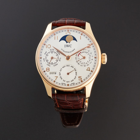 IWC Portuguese Perpetual Calendar Automatic // IW502213 // Pre-Owned