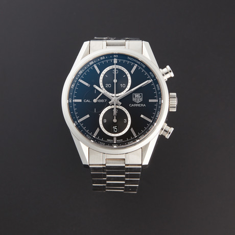 Tag Heuer Carerra Chronograph Calibre 1887 Automatic // CAR2110.BA0720 // Store Display