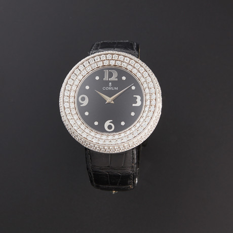 Corum Full Moon Diamonds Quartz // 24.840.69 // Pre-Owned