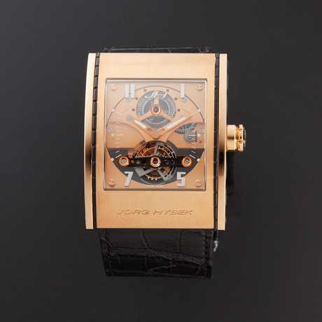 Jorg Hysek X-Ray Tourbillon Manual Wind // Pre-Owned