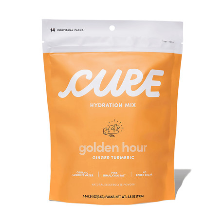 Golden Hour Ginger Turmeric // Pack of 14