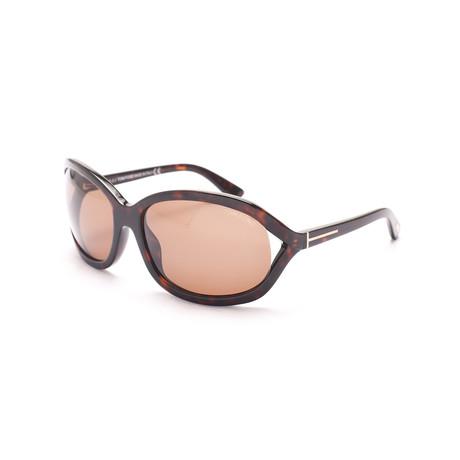 Tom Ford // Women's Vivienne Sunglasses // Dark Tortoise