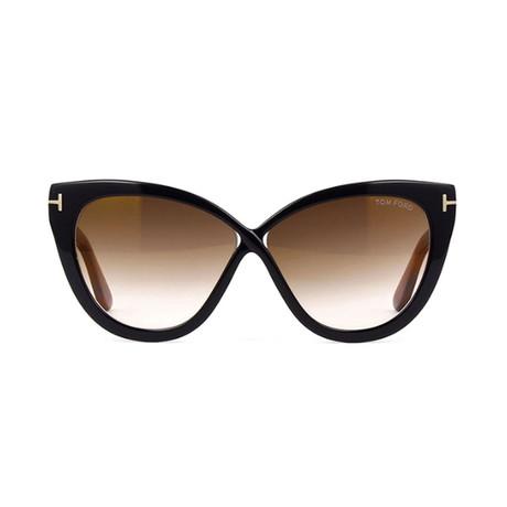 Tom Ford // Unisex Arabella Cat Eye Sunglasses // Black