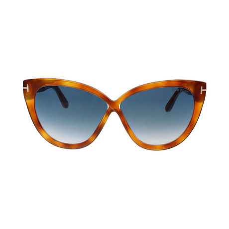 Tom Ford // Unisex Arabella Cat Eye Sunglasses // Brown