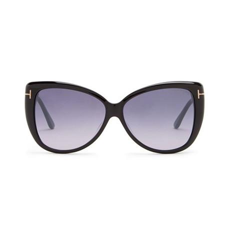 Tom Ford // Unisex Reveka Cat Eye Sunglasses // Black