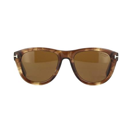 Tom Ford // Unisex Benedict Round Sunglasses // Brown