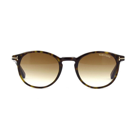 Tom Ford // Unisex Palmer Round Sunglasses // Black