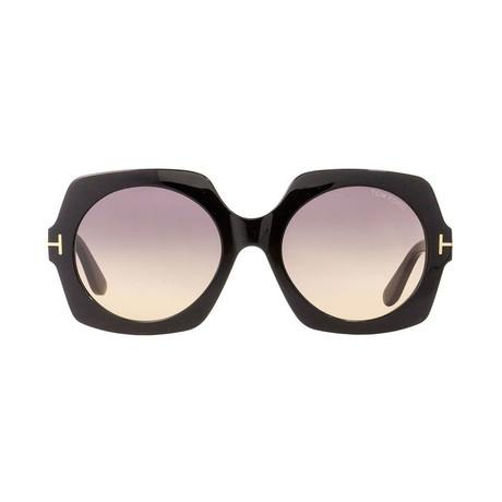 Tom Ford // Unisex Sofia Round Sunglasses // Black
