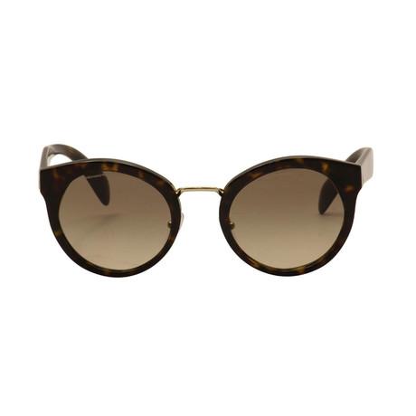 Prada // Unisex Circular Frame Sunglasses // Tortoise