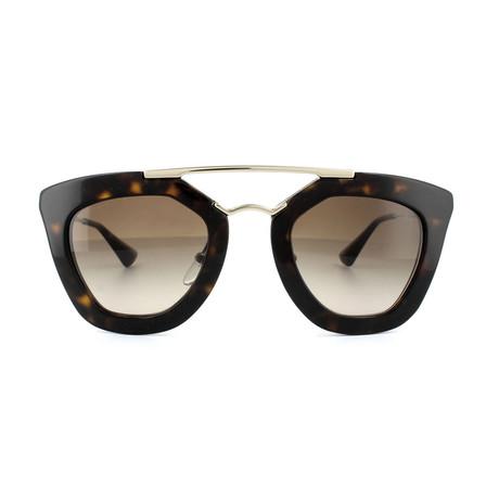 Prada // Unisex Square Frame Sunglasses // Tortoise