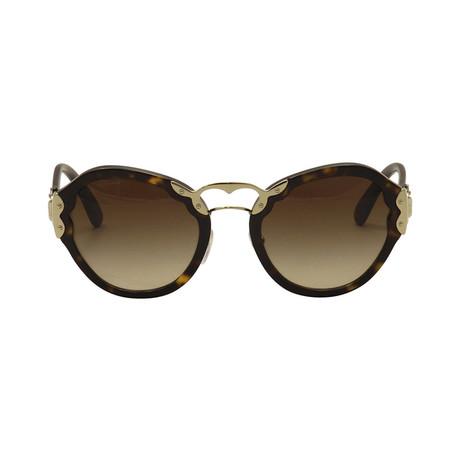 Prada // Unisex Butterfly Frame Sunglasses // Tortoise
