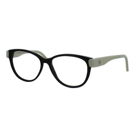 Unisex Oval Glasses // Black
