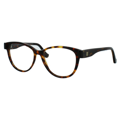 Women's Oval Glasses // Havana