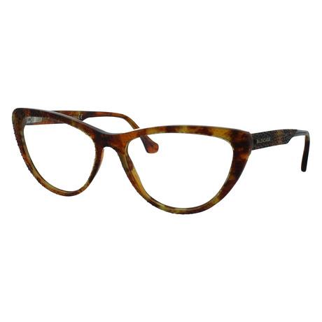 Women's Cat-Eye Glasses // Colored Havana