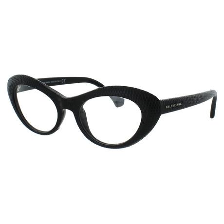 Women's Cat-Eye Glasses // Black