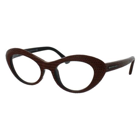 Women's Cat-Eye Glasses // Orange
