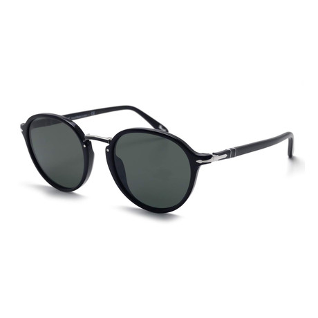 Persol Men's 3184S Sunglasses // Black + Gray