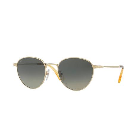 2445S Sunglasses // Gold + Gray Gradient