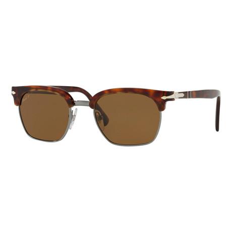 3199S Sunglasses // Havana + Brown Polarized