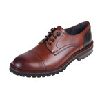 CS0271 // Derby Shoe // Tan (Euro: 40)