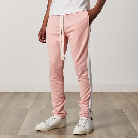 Slim Skinny Track Pants // Pink (S)
