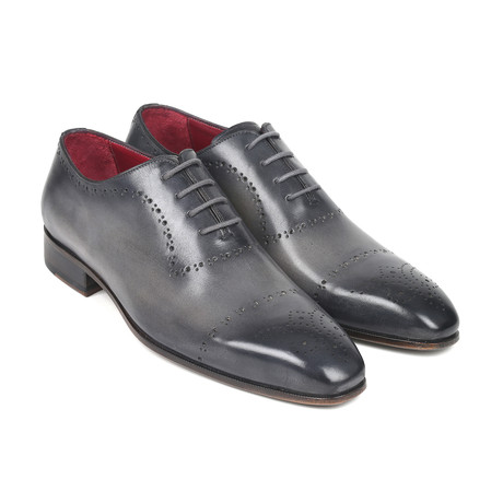 Hand-Painted Classic Brogues // Gray (Euro: 38)