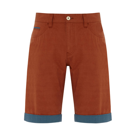 Eyser Shorts // Burnt Orange (XS)