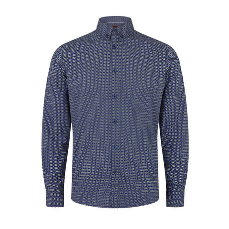 Carlton Shirt // Navy (XS)