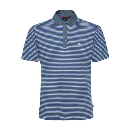 Saxon Polo Shirt // Bright Blue (XS)