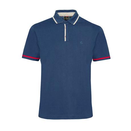 Fabian Polo Shirt // Blue (XS)