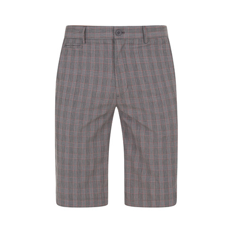 Relf Check Shorts // Grey (XS)
