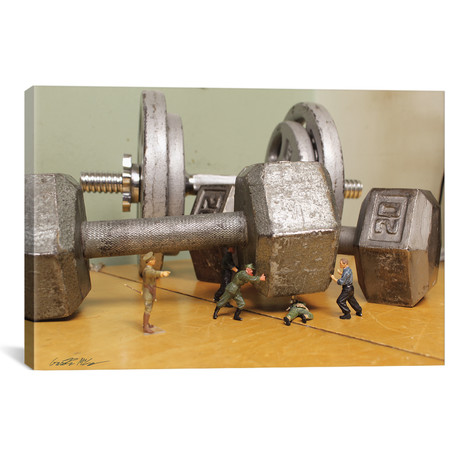 "Army Weights (26""W x 18""H x 0.75""D)"