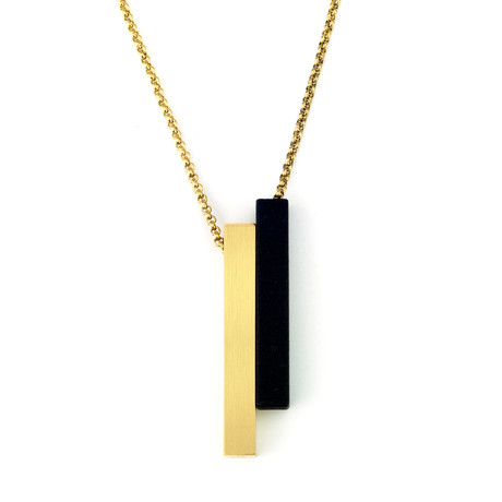 Virtue Element Pendant (24K Gold Plated)