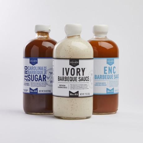 3 Sauce Keto // Ivory + Zero Sugar Carolina + ENC
