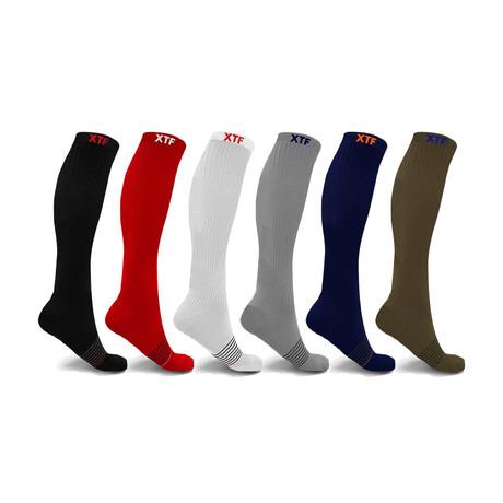 Sports Compression Socks // 6-Pairs (Medium)